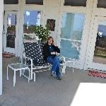  Back porch veranda area