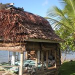 Another beach front fale at Regina's