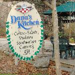 Dana's Kitchen Sign