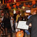 Hallowen night at Euro Diner