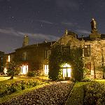 Thorns Hall at night