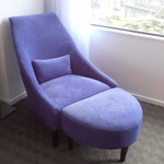 The chaise in our room