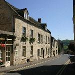  View from the outside in the heart of Painswick