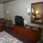 Interior of room #105