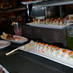 Dragon Roll and California roll