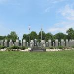 WWII Memorial in Annapolis Md Wide View