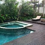  pool at yudhistra villa