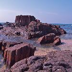 The amazing rock formations of St. Mary's Island
