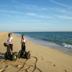 Faro Island at Sunset - Segway Tour at the Beach