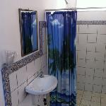 bathroom at El puert