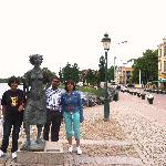 The waitress statue at Karlstad