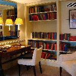  The library/office of the loft suite at the Covent Garden Hotel by Jeremiah Christopher