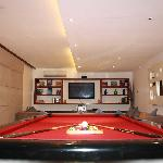 TV and Pool Table