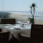 View from The Terrace Restaurant, Saunton Sands Hotel