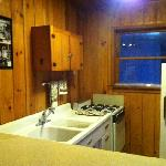 The Cabin 16 kitchen has been fully renovated as of Nov. 2011!