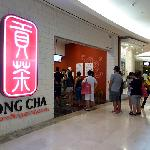  Gong cha Garden&#39;s Mall entrance