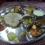 The yummy thali
