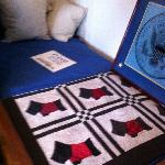 FDR's Bed - Scottie quilt in memory of Fala