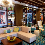 The Vinoy's remodeled and expanded lobby area is stylish and comfortable.