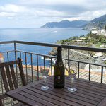  Apartment n1 Rosa di mare - Balcony with sea view