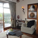 Livingroom with veranda