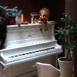 Piano on the second floor