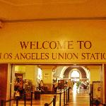 Union Station ,LA, Main entrance.