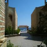  View from courtyard ,in the morning a nice breeze blows here, cool!!