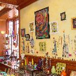 Olga Gallery...filled with one-of-a-kind works of art & fine crafts!