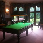 The snooker room!