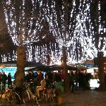  the ice rink. Xmas market