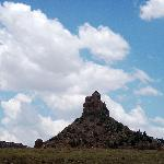 Qilane Hill from the road
