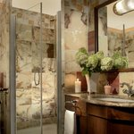 Marble Bathroom / Art Deco Imperial
