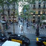the view from la rambla view room