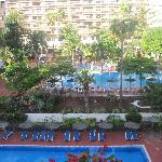  Pool area - viewed from the Canarife