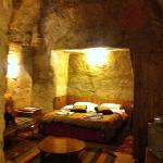 our room in the cave
