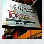 The Top Banana Sign