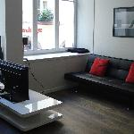 studio 1er étage salon suite