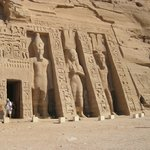 Abusimbel outside of Aswan