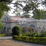 Aga Khan Palace - the view from the entrance