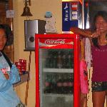 Bar-girls. Owner's wifr on right side. Dec08