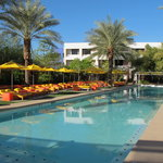 Swimming pool at The Saguaro