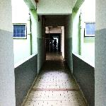  shabby, creepy corridors