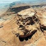 Masada from the air