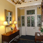Welcolm to the homely stylish entry hall