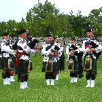 Bermuda Pipe Band at Fort Hamilton