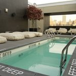  Pool and pool lounge area