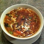 hot & sour soup, yumm!