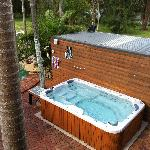 Heated Spa Pool
