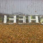 The old hotel sign.